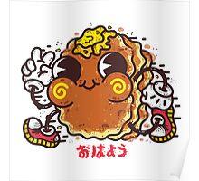 OHAYO Pancake Poster