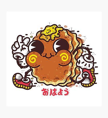 OHAYO Pancake Photographic Print