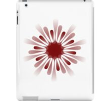A red 10 pointed shape iPad Case/Skin