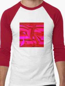 RED Men's Baseball ¾ T-Shirt