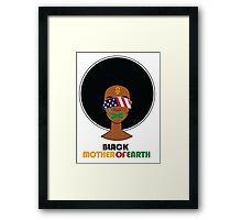Black Mother of Earth Framed Print