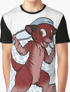 hat cat Graphic T-Shirt