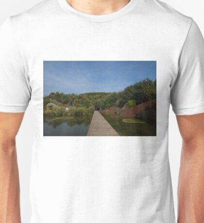 A Path Through a Garden Unisex T-Shirt