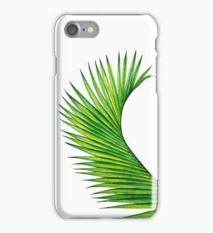 Palm Leaf iPhone Case/Skin