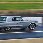 Drag Racing T.Bird - Pano by Neil Bushby