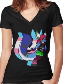 perfection Women's Fitted V-Neck T-Shirt