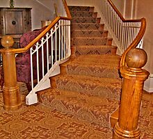 Golden Stairs by Jane Neill-Hancock