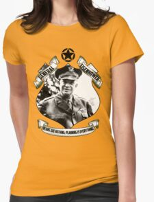 Eisenhower Scroll Womens Fitted T-Shirt
