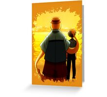 Assassination Classroom Nagisa And Korosensei Greeting Card