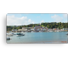 """"""" Looking across the River Dart"""" Canvas Print"""