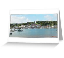 """ Looking across the River Dart"" Greeting Card"