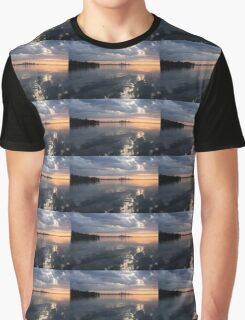 Early Morning Reflections - Lake Ontario and Downtown Toronto Skyline  Graphic T-Shirt