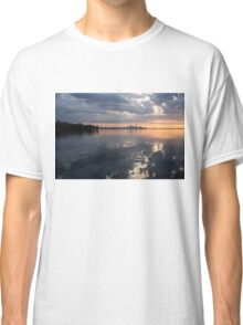 Early Morning Reflections - Lake Ontario and Downtown Toronto Skyline  Classic T-Shirt