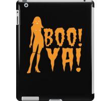 BOO! YA! sexy woman figure Halloween laugh  iPad Case/Skin