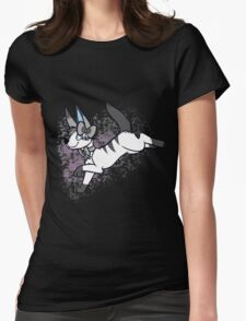 almost grayscale Womens Fitted T-Shirt