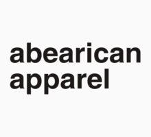ABEARICAN APPAREL by lgbtdesigns