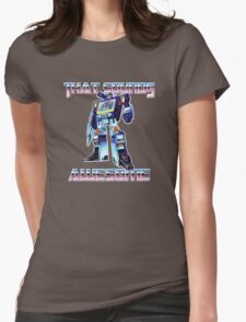 soundwave - that sounds awesome Womens Fitted T-Shirt