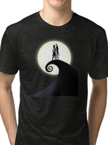 Jack Skellington & Sally Tri-blend T-Shirt