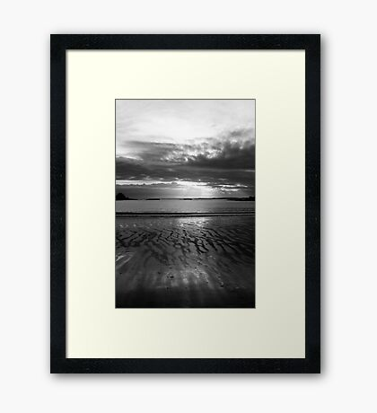 Sunset No.1 Framed Print