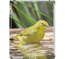 Little white-eye iPad Case/Skin