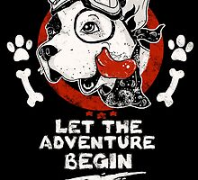 Let the Adventure Begin by bykai