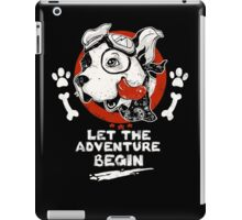 Let the Adventure Begin iPad Case/Skin