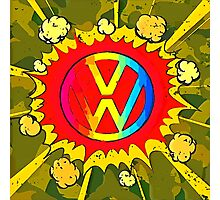 Boom VW Logo Photographic Print