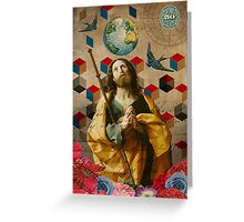 Saints Collection -- The Alchemist Greeting Card
