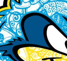 UD Blue Hens doodle Sticker