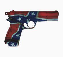 Confederate Gun by Craig Stronner