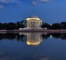 Thomas Jefferson Memorial Sticker