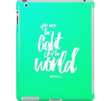 Matthew 5:14 iPad Case/Skin