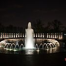 WWII Memorial, Washington DC by Jeannie Peters