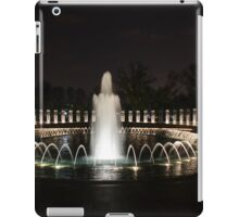WWII Memorial, Washington DC iPad Case/Skin