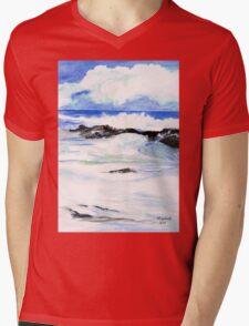 The sea Mens V-Neck T-Shirt