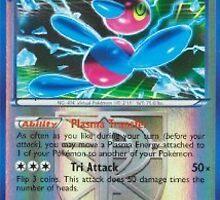 pokemon reverse holo porygon z by RedrulerAj