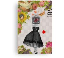 Retro Collection --  Candy Girl Canvas Print
