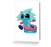 Galaxy Sonic Greeting Card