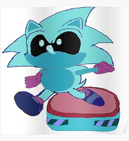 Galaxy Sonic Poster