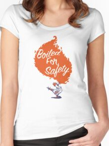 Good Mythical Morning Boiled For Safety Women's Fitted Scoop T-Shirt