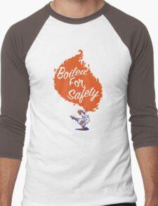 Good Mythical Morning Boiled For Safety Men's Baseball ¾ T-Shirt