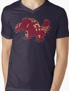 Omega Groudon Mens V-Neck T-Shirt