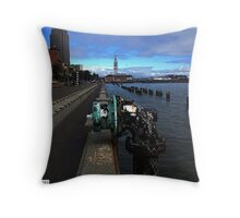 Graffiti Bay. Throw Pillow