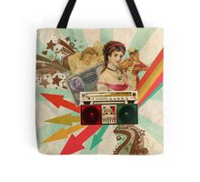 Retro Collection  --  Retro Radio Tote Bag