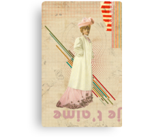 Retro Collection  --  Je T'aime Canvas Print