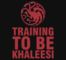 Training to be Khaleesi - Daenerys Targaryen  by mashedelephants