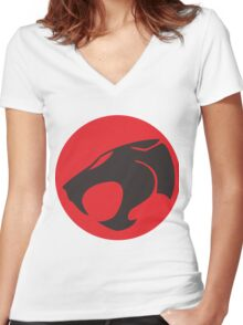thundercat Women's Fitted V-Neck T-Shirt