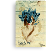 Retro Collection  --  Waiting Canvas Print