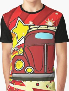 Star Burst Beetle Graphic T-Shirt