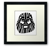 Darth Mufasa (Lion King + Star Wars) Framed Print
